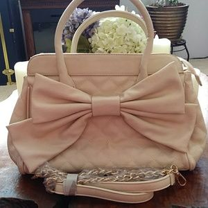 Call It Spring Purse W/a Bow